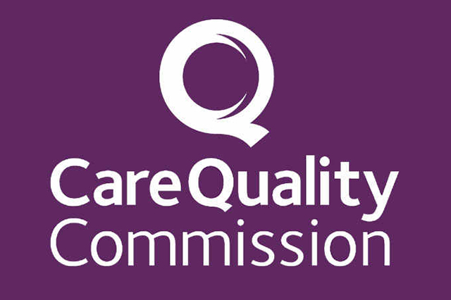 VCare Quality Commission Logo